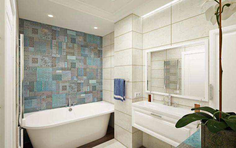 Квартира. ванная из проекта Семейная идиллия, фото №94739