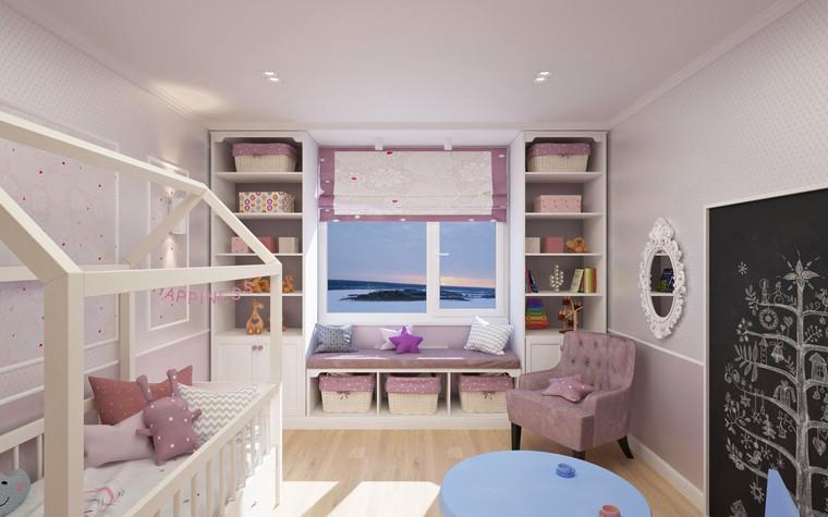 Квартира. детская из проекта Семейная идиллия, фото №94728