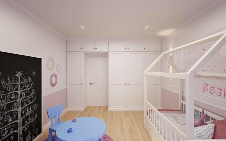 Квартира. детская из проекта Семейная идиллия, фото №94729