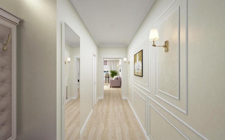 Квартира. коридор из проекта Семейная идиллия, фото №94725