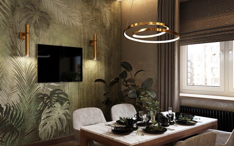 Квартира. кухня из проекта Современная квартира для молодой семьи, фото №95457