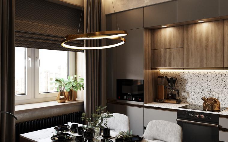 Квартира. кухня из проекта Современная квартира для молодой семьи, фото №95458