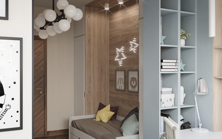 Квартира. детская из проекта Современная квартира для молодой семьи, фото №95467