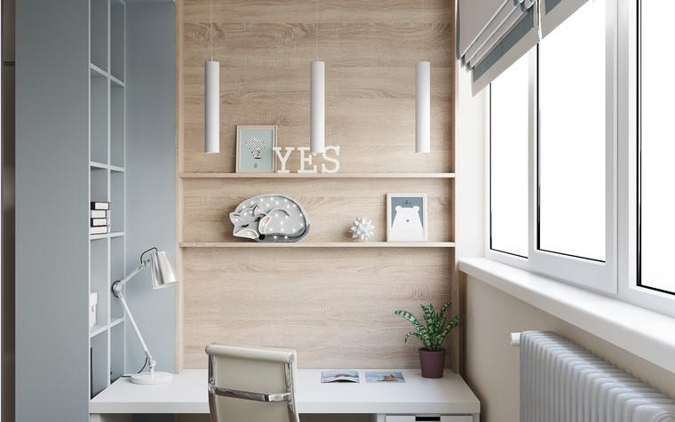 Квартира. детская из проекта Современная квартира для молодой семьи, фото №95468