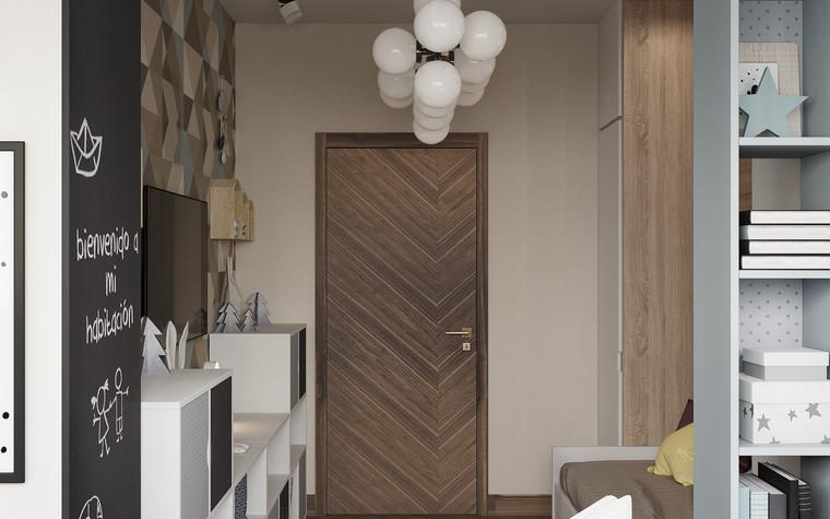 Квартира. детская из проекта Современная квартира для молодой семьи, фото №95469