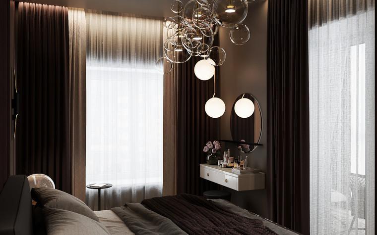 Квартира. спальня из проекта Современная квартира для молодой семьи, фото №95475