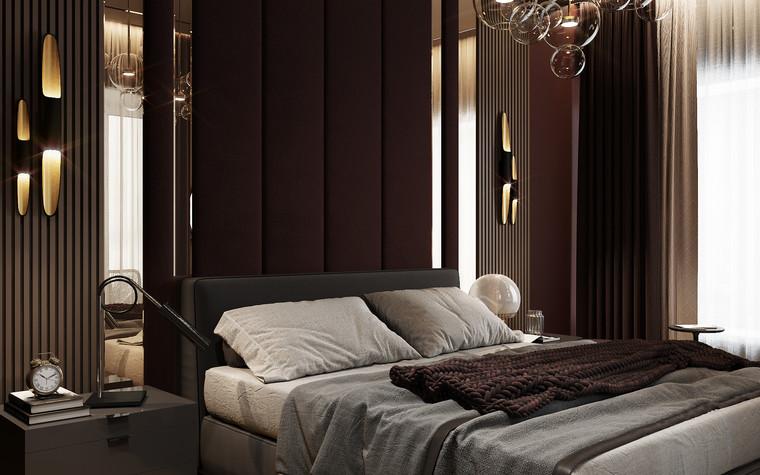 Квартира. спальня из проекта Современная квартира для молодой семьи, фото №95476