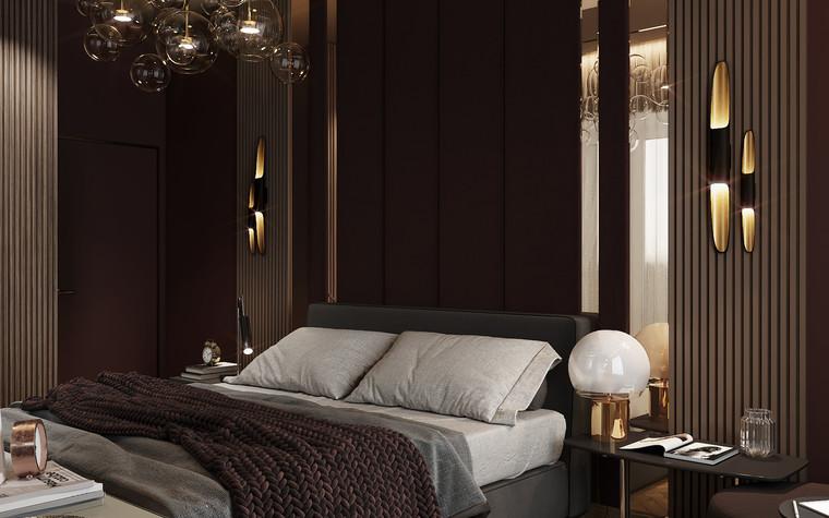 Квартира. спальня из проекта Современная квартира для молодой семьи, фото №95477
