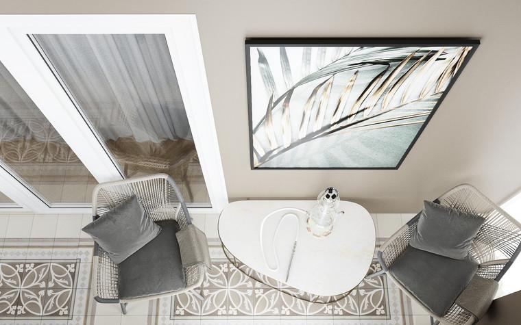 Квартира. веранда лоджия из проекта Современная квартира для молодой семьи, фото №95480