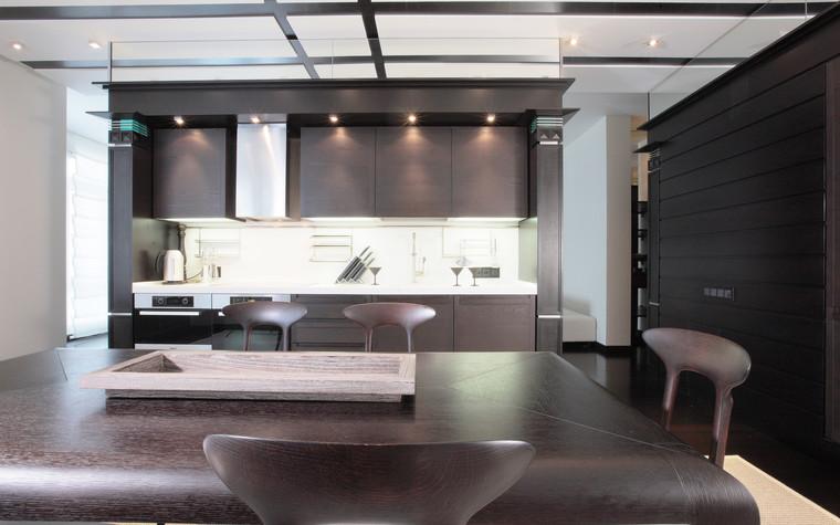 Квартира. кухня из проекта Иллюзия бесконечности, фото №96223
