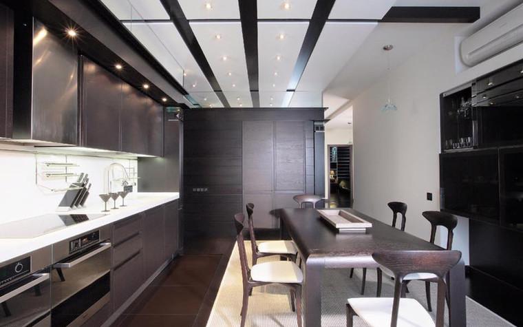 Квартира. кухня из проекта Иллюзия бесконечности, фото №96222