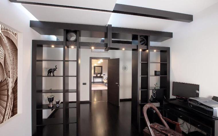 Квартира. кабинет из проекта Иллюзия бесконечности, фото №96226