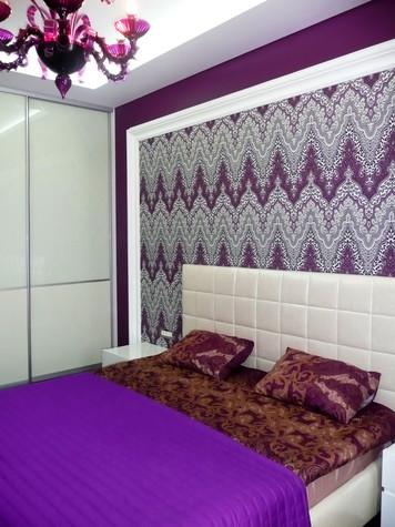 Квартира. спальня из проекта Квартира для девушки, фото №97828