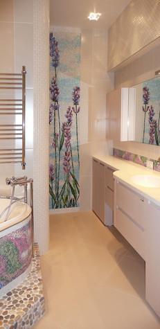 Квартира. ванная из проекта Квартира для девушки, фото №97830