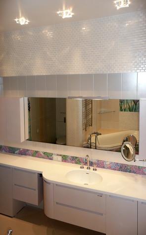 Квартира. ванная из проекта Квартира для девушки, фото №97831