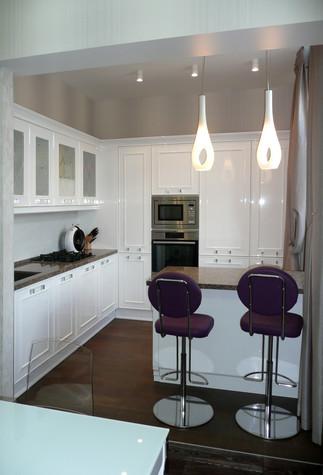 Квартира. кухня из проекта Квартира для девушки, фото №97835
