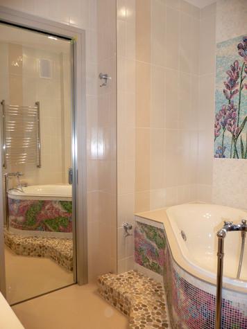 Квартира. ванная из проекта Квартира для девушки, фото №97832