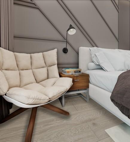 Квартира. спальня из проекта ЖК летний сад, фото №98025