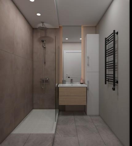 Квартира. ванная из проекта ЖК летний сад, фото №98028