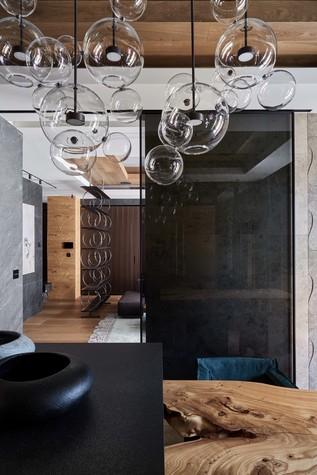 Квартира. кухня из проекта Природа в доме, фото №98185