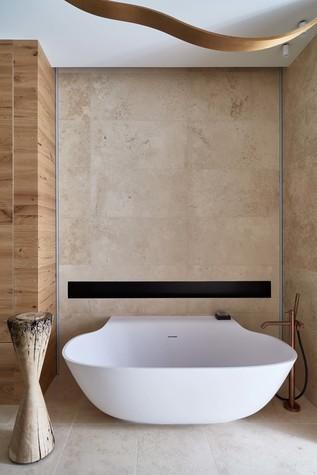 Квартира. ванная из проекта Природа в доме, фото №98180
