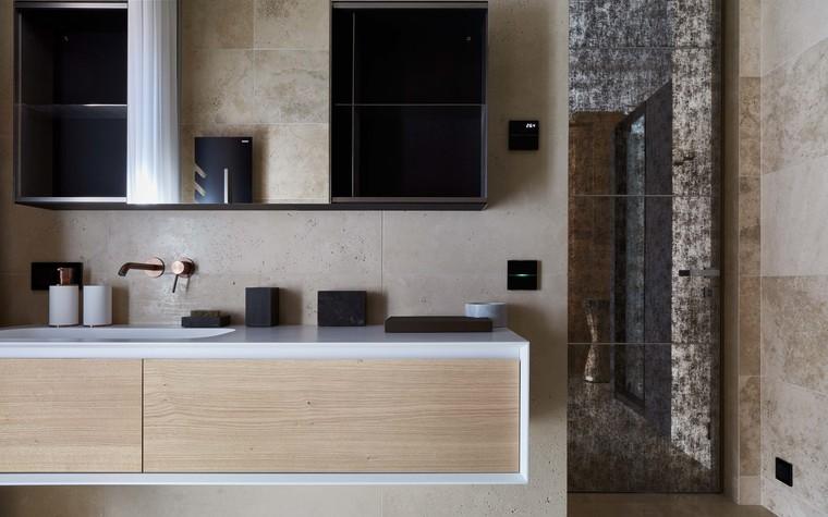 Квартира. ванная из проекта Природа в доме, фото №98182