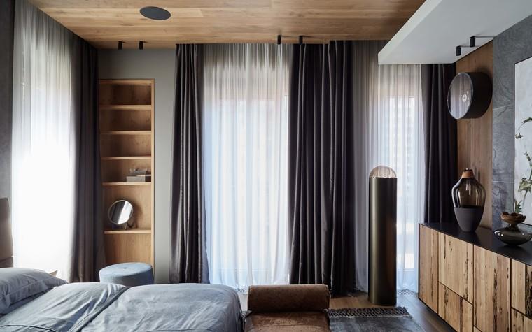 Квартира. спальня из проекта Природа в доме, фото №98171