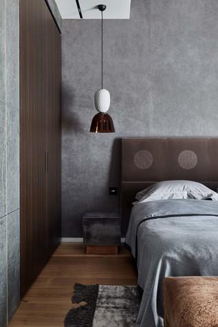 Квартира. спальня из проекта Природа в доме, фото №98173
