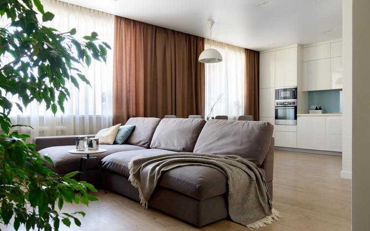 Квартира. гостиная из проекта Сибирский блюз, фото №98291