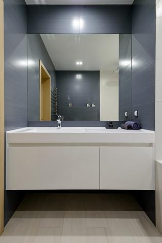 Квартира. ванная из проекта Сибирский блюз, фото №98294