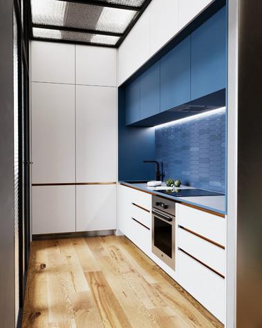 Квартира. кухня из проекта Сочный лофт, фото №98607
