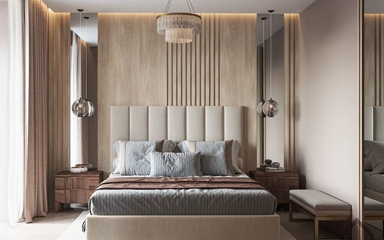 Квартира. спальня из проекта ЖК Лайнер, фото №98617