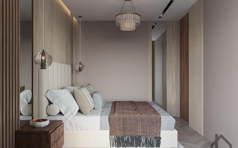 Квартира. спальня из проекта ЖК Лайнер, фото №98616