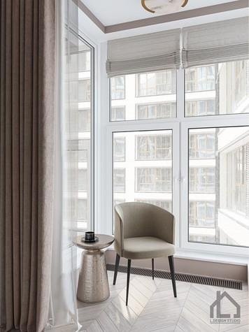 Квартира. гостиная из проекта ЖК Лайнер, фото №98612