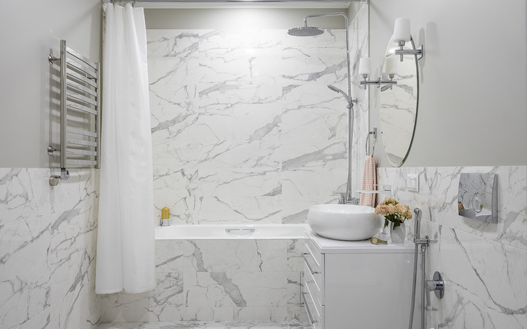 Квартира. ванная из проекта ЖК Im, фото №99688