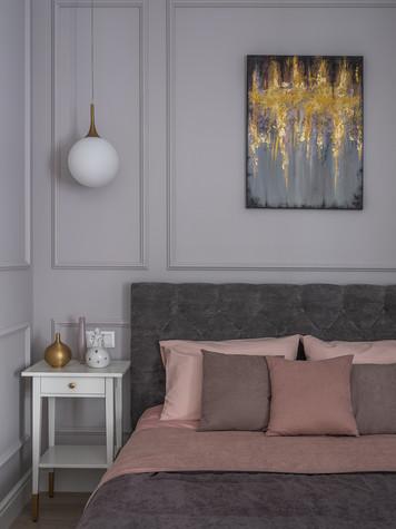 Квартира. спальня из проекта ЖК Im, фото №99686