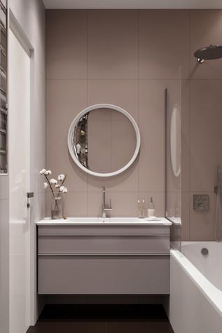 Квартира. ванная из проекта ЖК Сильвер, фото №99752