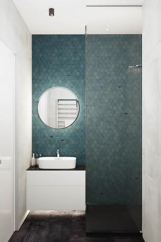 Квартира. ванная из проекта ЖК Сильвер, фото №99753