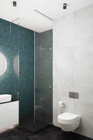 Квартира. ванная из проекта ЖК Сильвер, фото №99755