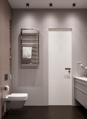 Квартира. ванная из проекта ЖК Сильвер, фото №99750
