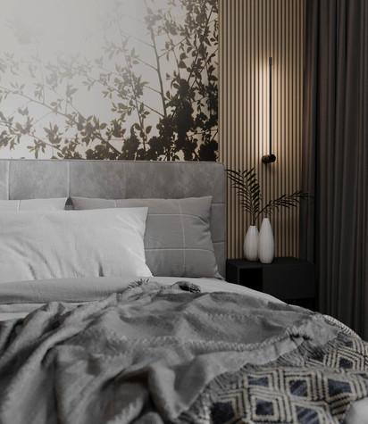 Квартира. спальня из проекта ЖК Сильвер, фото №99743