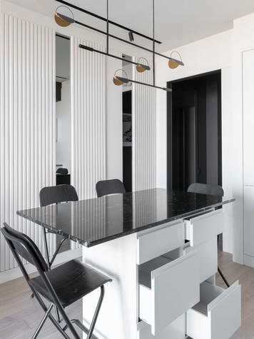 Квартира. кухня из проекта ТАГАНКА, 67м2, фото №102335