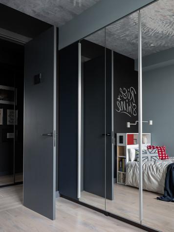 Квартира. спальня из проекта ТАГАНКА, 67м2, фото №102342
