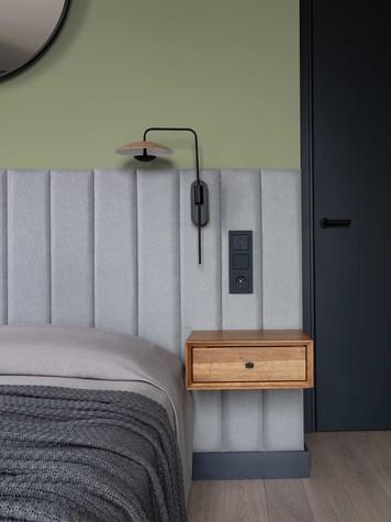 Квартира. спальня из проекта ТАГАНКА, 67м2, фото №102343