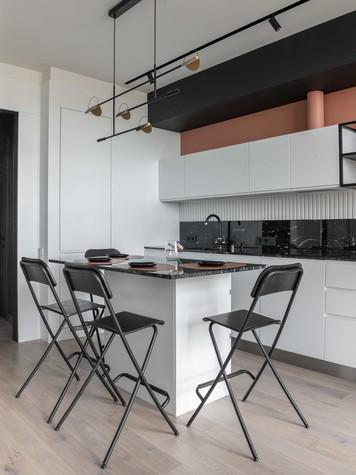 Квартира. кухня из проекта ТАГАНКА, 67м2, фото №102336