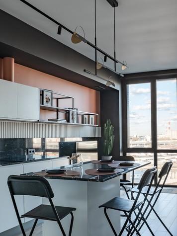 Квартира. кухня из проекта ТАГАНКА, 67м2, фото №102337