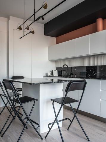Квартира. кухня из проекта ТАГАНКА, 67м2, фото №102338