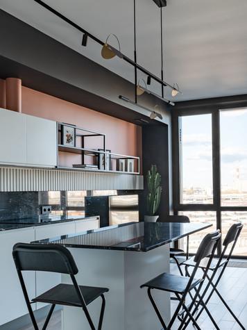 Квартира. кухня из проекта ТАГАНКА, 67м2, фото №102339