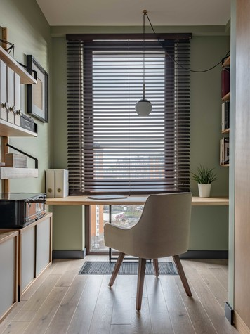 Квартира. кабинет из проекта ТАГАНКА, 67м2, фото №102344