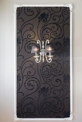 Квартира. кухня из проекта Стильный черный, фото №103076